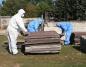 Tylko w tym roku usunęli 1200 ton azbestu w powiecie konińskim