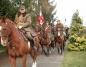 Kawnice. Szwadron Kawalerii Ziemi Konińskiej na uroczystościach