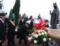 Kleczew. Górnicy złożyli kwiaty pod pomnikiem św. Barbary