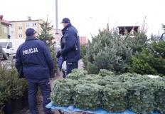 Słupca. Przed świętami policjanci kontrolują handel i targowiska