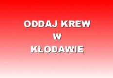 Oddaj krew w Kłodawie. Każda kropla jest cenna