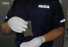 31-letni mieszkaniec Kłodawy zatrzymany za posiadanie narkotyków