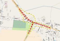 Rozpoczęcie przebudowy skrzyżowania ulic: Kolska - Europejska