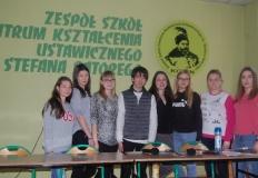 Konin. Studenci z Japonii i Rumunii przyjechali do ZS CKU