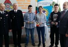 Konin. Uczniowie wzięli udział w Turnieju Wiedzy Pożarniczej