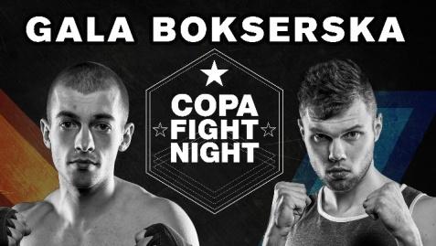 Olimpijski boks, zawodowa oprawa. W sobotę Copa Fight Night