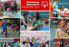 Konin. Ponad 120 zawodników Olimpiad Specjalnych na treningu