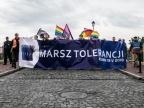Wolność, równość, tolerancja na kolorowym marszu w Koninie