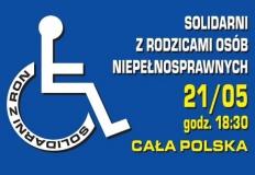 Solidarni z Rodzicami Osób Niepełnosprawnych. Konin dołącza!