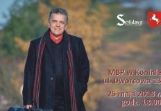Gitarowe Nostalgie - płyta Andrzeja Majewskiego i recital w MBP