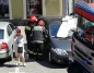 Konin. Strażacy uratowali zatrzaśnięte w samochodzie dziecko