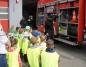 Dzieci ze szkół i przedszkoli odwiedziły konińskich strażaków