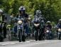 Ślesin. Parada motocykli na III Motopik. Pojechali do Lichenia