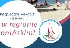 Bezpieczne wakacje nad wodą w regionie konińskim. Są kąpieliska