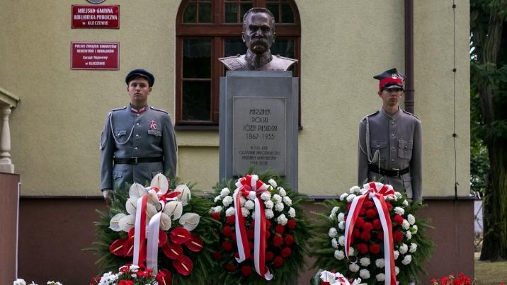 Dni Kleczewa. Odsłonili pomnik marszałka Józefa Piłsudskiego