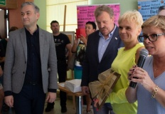Robert Biedroń zachęcał w Koninie do tworzenia komitetów