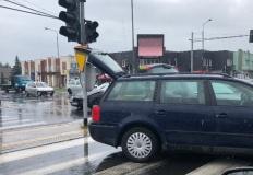Kolizja na skrzyżowaniu. Nie ustąpił pierwszeństwa przejazdu