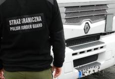 Nielegalni imigranci w polskiej ciężarówce w drodze do Koła