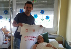 Krystian uległ wypadkowi. Zarząd MKS Olimpia Koło chce pomóc