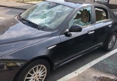 Koło. Sprawca uszkodzenia samochodu zatrzymany przez policję