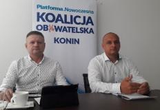 Konin. Koalicja Obywatelska broni swojego kandydata przed PiS
