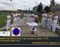Capoeira na bulwarach, pokaz na zakończenie wakacji