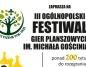 III Ogólnopolski Festiwal Gier Planszowych im. Michała Gościniaka