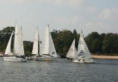 Najlepsi żeglarze okręgu znani. Pływali na Jeziorze Ślesińskim