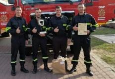 Najlepsi strażacy ratownicy pochodzą z Ruszkowa Pierwszego