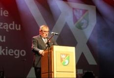 Gala w Koninie na dwudziestolecie samorządu powiatowego