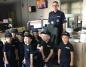Konin. Dzieci z przedszkola odwiedziły policjantów na komendzie