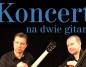 Koncert na dwie gitary. Bracia Marek i Adam Mikulscy