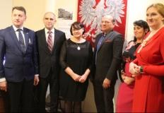 Zenon Chojnacki wspierany przez parlamentarzystów i rodzinę