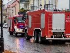 Alarm w Urzędzie Miejskim. Straż pożarna postawiona na nogi