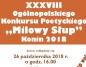 Milowy Słup po raz XXXVIII, czyli najstarszy konkurs poetycki