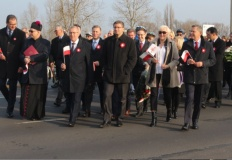 Konin dla Niepodległej przeszedł w słonecznym, radosnym marszu