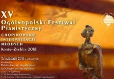 Festiwal Chopinowskie Interpretacje Młodych w Koninie po raz 15