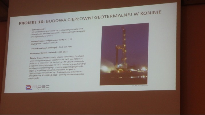 Konin. Nadzieje na budowę ciepłowni geotermalnej rozwiane