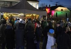 Wieczór cudów i świateł Chanuka na placu Zamkowym w Koninie