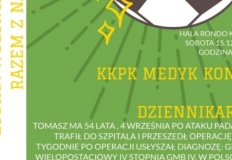 Medyk Konin i dziennikarze zagrają dla chorego Tomasza Gapsy