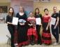 """""""Fryzury w rytmie flamenco"""" w wykonaniu uczennic ZST w Koninie"""