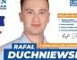 Rafał Duchniewski został kierownikiem biura prezydenta Konina