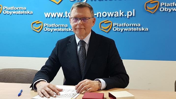 Koniński poseł Tomasz Nowak przygotowuje się już do wyborów