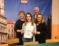 Uczennica ZSEU w Żychlinie na olimpiadzie wiedzy o żywieniu