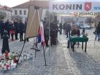 Syreny i kondolencje płyną od mieszkańców Konina do Gdańska