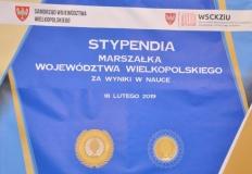 W murach WSCKZiU w Koninie wręczono stypendia Marszałka