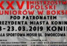 W Koninie startują Mistrzostwa Polski Juniorów w Boksie