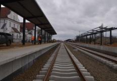 Koło. Przebudowa peronów przebiega zgodnie z harmonogramem