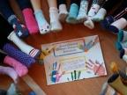 Dzień kolorowej skarpety w Szkole Podstawowej nr 11 w Koninie