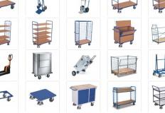 Poznaj wózki transportowe i magazynowe wykorzystywane w całej Europie
